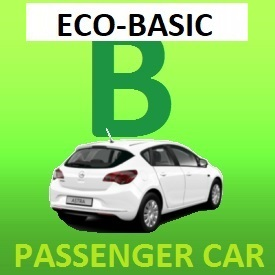 Driving license training with car - ECO-BASIC
