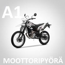 A1 kevari -kortti moottoripyörälle
