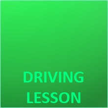 driving lessons and car for test