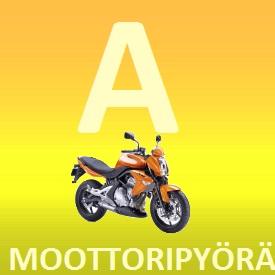 iso A moottoripyöräkurssi